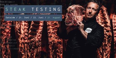 Premium Steak-Testing  Tickets