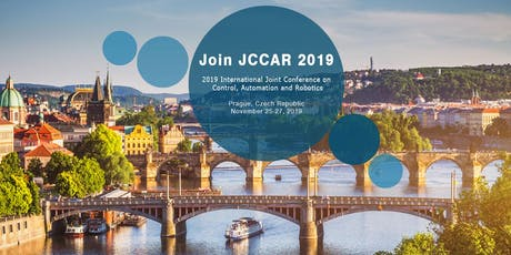 2019 International Joint Conference on Control, Automation and Robotics (JCCAR 2019) tickets