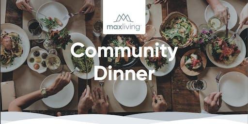 MaxLiving Community Dinner