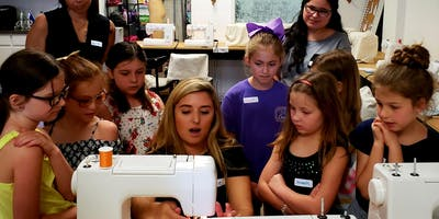 Summer Camp 2019 - Learn how to sew and Fashion illustration