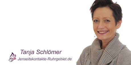 """""""Die Brücke zwischen den Welten"""" Mediales Seminar mit Tanja Schlömer. Tickets"""