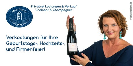 Zu Gast bei: Roswitha Steininger / Crémant d´Alsace & Champagner Verkostung Tickets