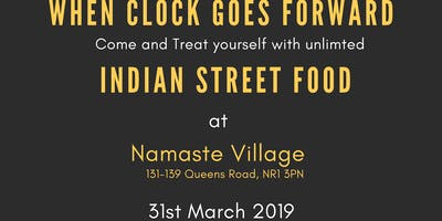 INDIAN STREET FOOD - When Clock Goes Forward