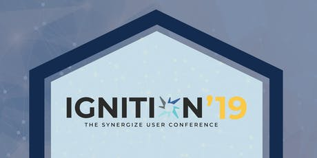 Ignition 2019 – The Synergize User Conference tickets