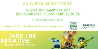 EU Green Week partner event: Biowaste Management and Environmental Sustainability in EU - Think green every day!