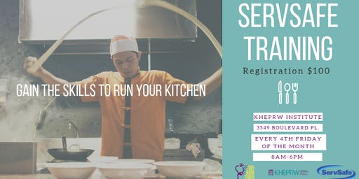 We Run This ServSafe Workshop