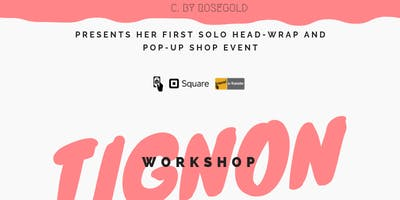 C. BY ROSEGOLD  presents her first solo pop up shop and workshop