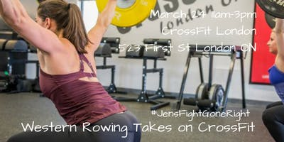 Western Rowing Takes on CrossFit - Competition/Fundraiser