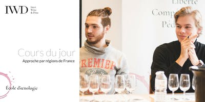 IWD Cours du jour - Approche par régions de France   Formation en œnologie