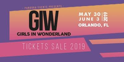 Girls in Wonderland 2019 - Ticket Sale