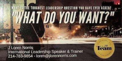 The toughest leadership question ever! Part 5