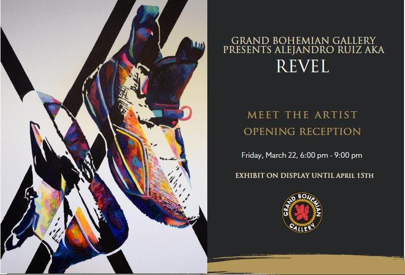 Revel- Opening Reception with Speed Painting