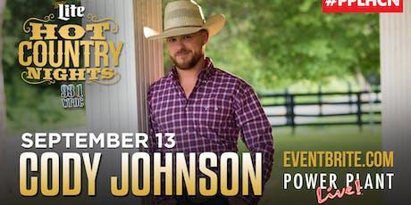 Hot Country Nights: Cody Johnson tickets