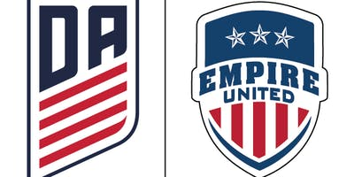 Empire United Soccer Camp- South Towns July 15th -18th 2019