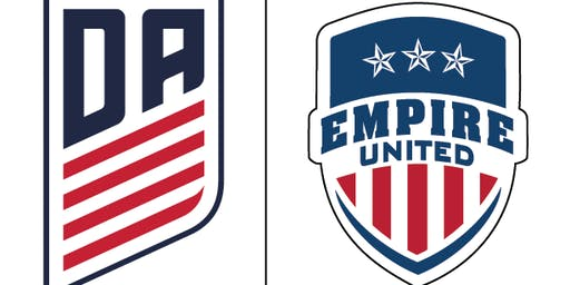 Empire United Brand New Shooting/Moves Soccer Camp-  July 15th -18th 2019