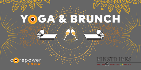 Yoga & Brunch at Pinstripes Georgetown tickets