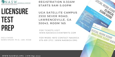 UGA School of Social Work and NASWGA Chapter host Licensure Prep Course