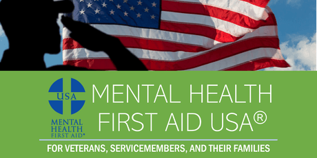Mental Health First Aid Training (Veterans) - East Granby  tickets