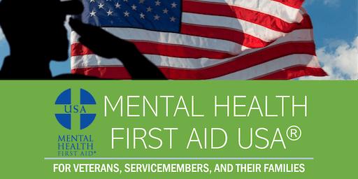 Mental Health First Aid Training (Veterans) - East Granby