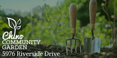Community Garden Workshop-California Native Plants tickets