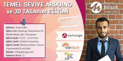 Arduino ve 3D Tasarım Eğitimi - Yasin Güleç