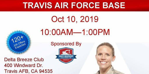 Travis AFB Veteran Job Fair - Oct 2019