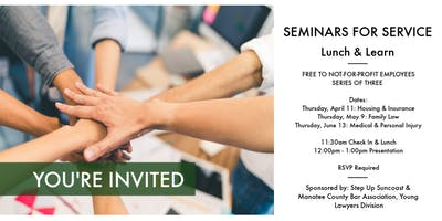 5/9: Seminar for Service