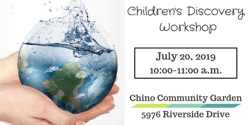 Children's Discovery Workshop-Let's Get Water-Wise!