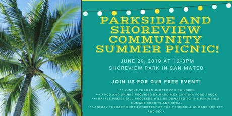 Parkside and Shoreview Community Summer Picnic tickets