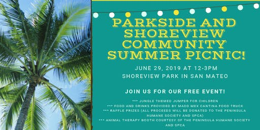 Parkside and Shoreview Community Summer Picnic