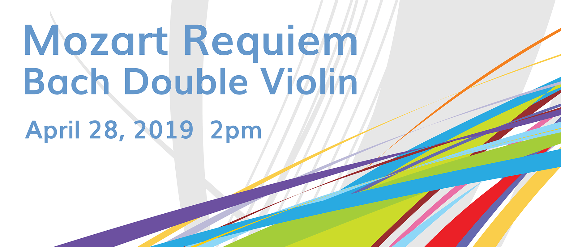 Mozart's Requiem and Bach's Double Violin