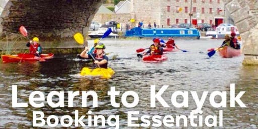 ADULT LEARN TO KAYAK COURSE JUNE 2019