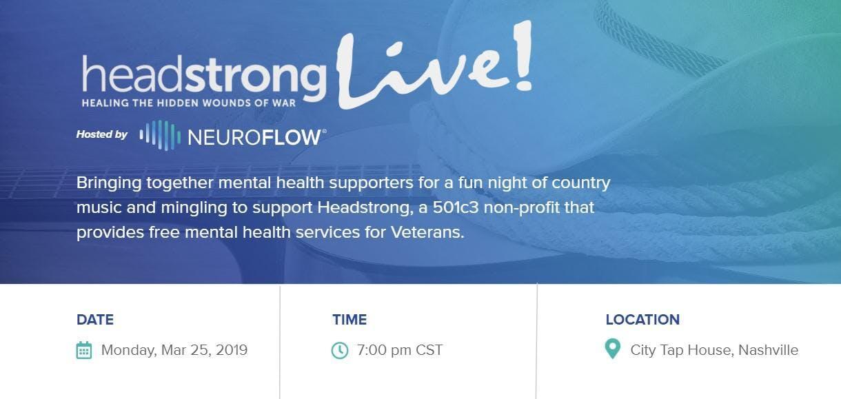 Headstrong LIVE: Raising Awareness for Vetera