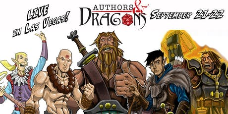 Authors & Dragons Con 2019 tickets