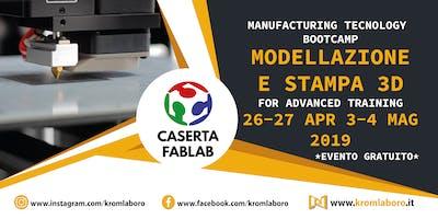 MODELLAZIONE E STAMPA 3D BOOTCAMP