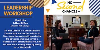 Leadership Workshop with Kate Graham