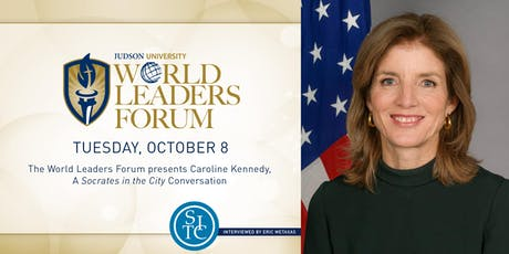 2019 World Leaders Forum presents Caroline Kennedy tickets
