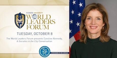 2019 World Leaders Forum presents Caroline Kennedy tickets