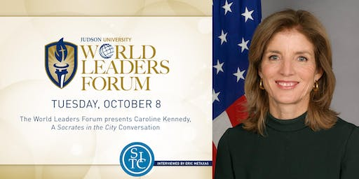 2019 World Leaders Forum presents Caroline Kennedy
