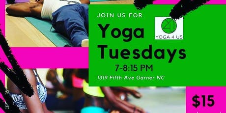 Yoga Tuesdays at Perfectly Flawed Community Center tickets