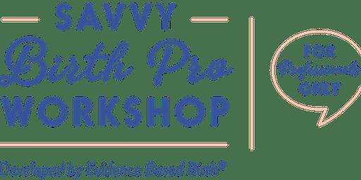 Savvy Birth Pro Workshop