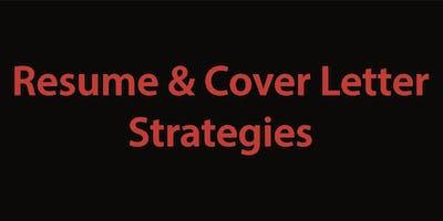 Resume & Cover Letter Strategies