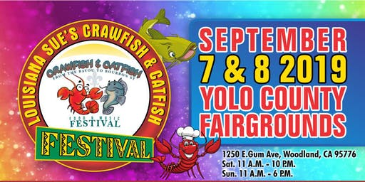 Crawfish & Catfish Festival 2019