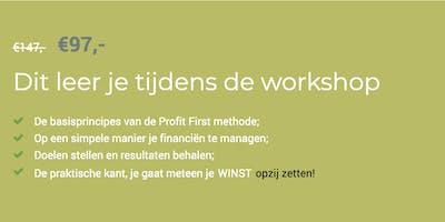 WORKSHOP | Profit First, boost je bedrijf!