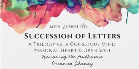 Succession of Letters Book Launch tickets