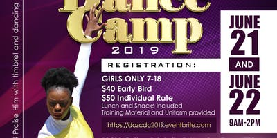 Daughters of Zion Christian Dance Camp 2019