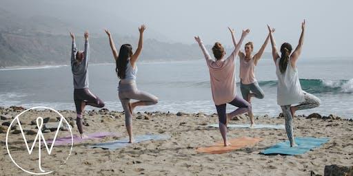 Beach Yoga + Cleanup