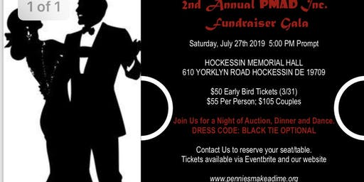 2nd Annual Pennies Make A Dime Inc. Fundraiser Gala
