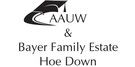 AAUW Hoe Down tickets