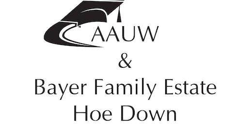 AAUW Hoe Down